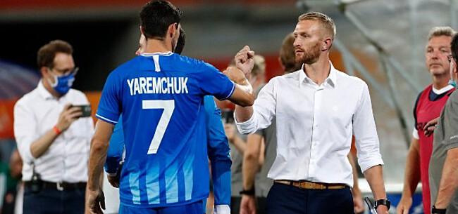 Foto: De Decker spreekt zich uit over gemiste penalty Yaremchuk
