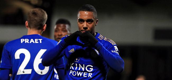 Foto: Tielemans helpt Leicester met fraaie assist aan zege tegen Arsenal