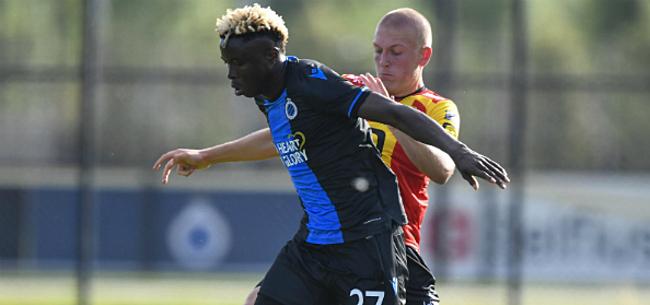 Foto: Clement geeft jonge revelatie weer een kans, AA Gent met onthoofde aanval