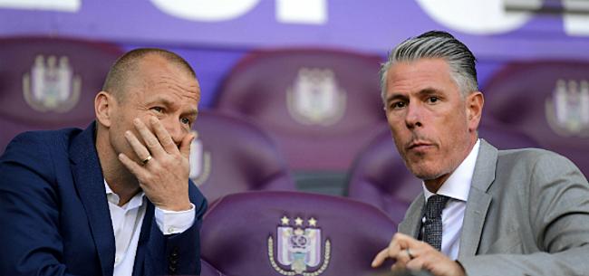 Foto: Anderlecht meteen geconfronteerd met groot transferprobleem