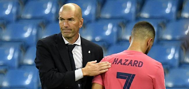 Foto: Zidane laat zich uit over nieuwe blessure Hazard