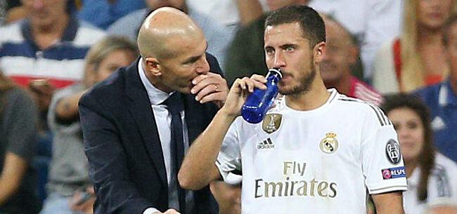 Foto: Zidane reageert op nieuwe kritiek aan adres Hazard