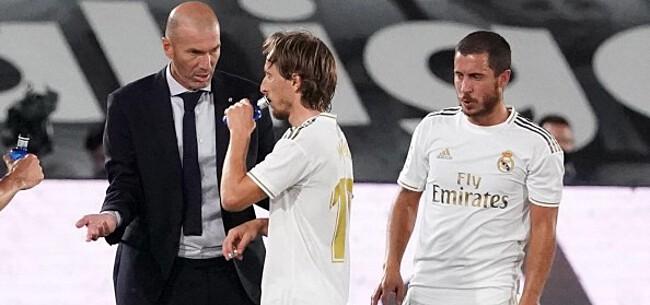 Foto: Zidane broedt op verrassing met Hazard
