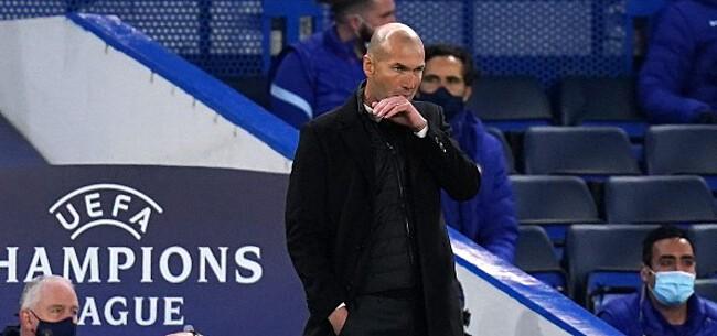 Foto: Mulder sloopt Zidane: