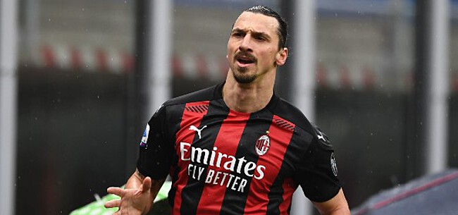 Foto: 'Ibrahimovic heeft knoop over toekomst bij AC Milan doorgehakt'