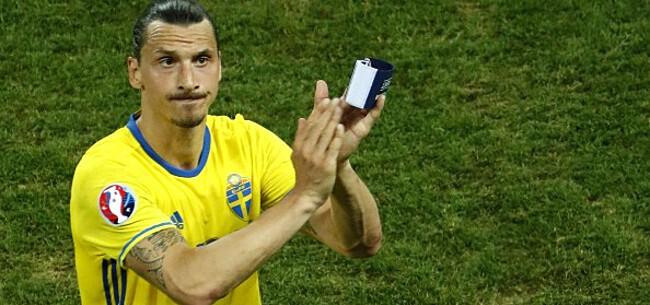 Foto: Ibrahimovic toch fit voor het EK?
