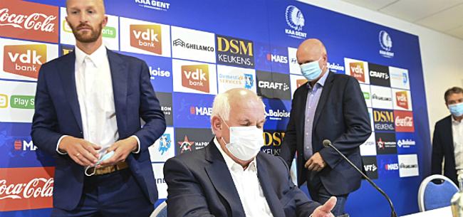 Foto: Nieuwe coach voor AA Gent: