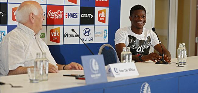 Foto: AA Gent is gewaarschuwd: Nurio moet vloek in Jupiler Pro League doorbreken