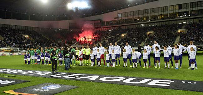 Foto: Europa League-wedstrijd AA Gent in gevaar