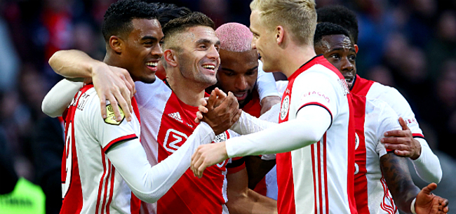 Foto: Ajax schrijft geschiedenis met ongeziene 0-13 zege