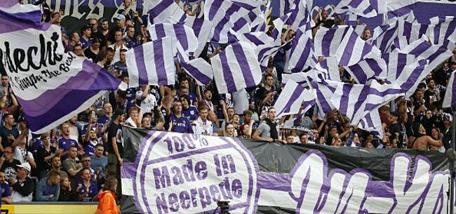 Foto: Verdeeldheid bij fans van Anderlecht: