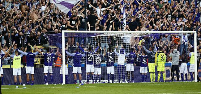 Foto: Anderlecht komt met dankwoord voor eigen fans