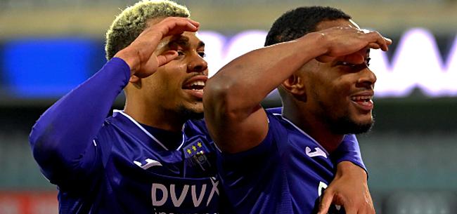 Foto: Anderlecht zet titelambities kracht bij met straffe cijfers