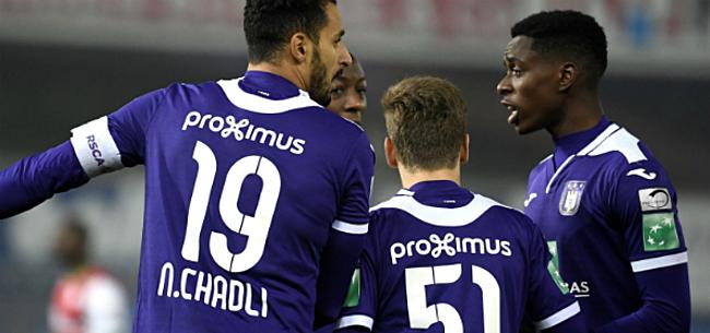 Foto: Anderlecht kan rekenen op Kompany en Chadli, opvallende naam bij selectie
