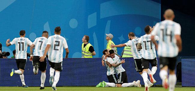 Foto: Argentinië kruipt door het oog van de naald, IJsland laat het liggen