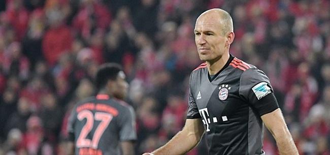Foto: Robben zorgt voor brandje bij Bayern: