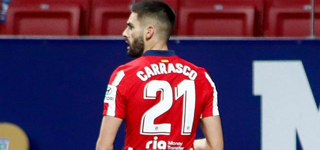 Foto: 'Atletico haalt nieuw Carrasco-maatje in huis'