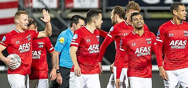 Foto: AZ dropt nieuwe bom na Eredivisie-besluit