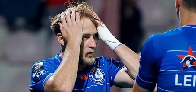 Foto: AA Gent blijft in de kelder hangen na onnodige nederlaag in Kortrijk