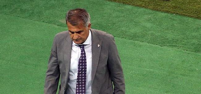Foto: Turkse bondscoach reageert op mogelijk ontslag na dramatisch EK