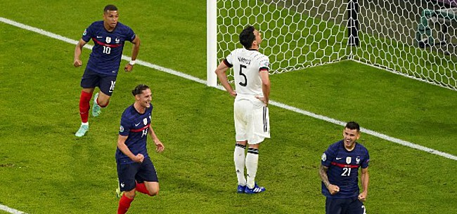 Foto: Duitsland meteen met kater: