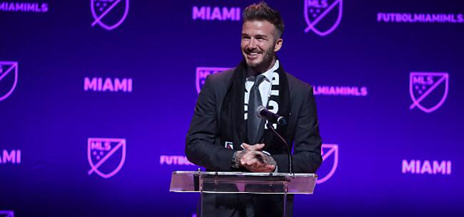 Foto: 'Beckham richt zijn pijlen nu op Barça-middenvelder'