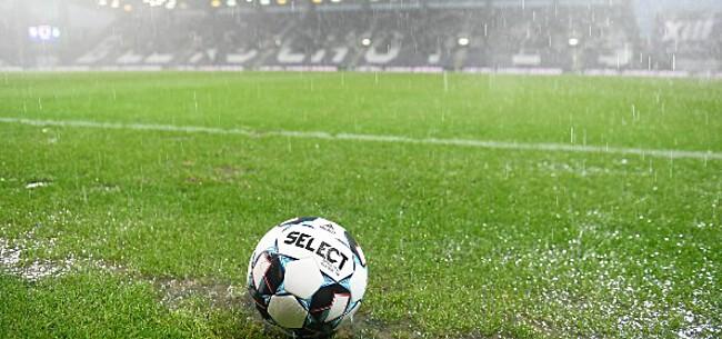 Foto: Beerschot maakt datum voor rest van match tegen Cercle bekend