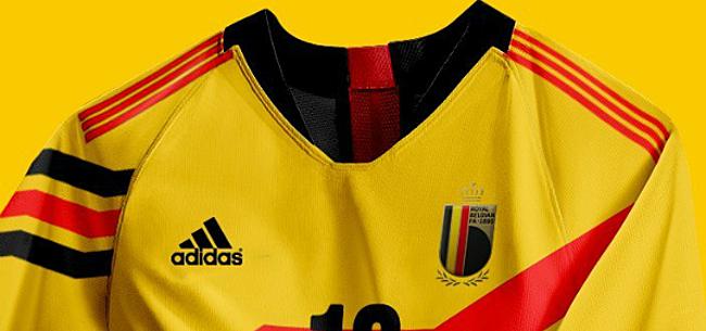 Foto: Concept: drie nieuwe (retro)shirts voor de Rode Duivels