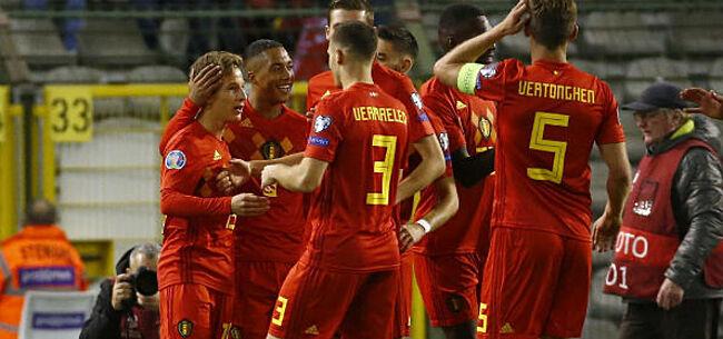 Foto: België naar EK: Vanaken & co vechten voor amper één plaats