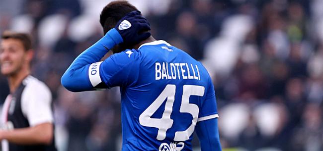 Foto: 'Mario Balotelli heeft er geen zin meer in en zegt nee'