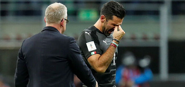 Foto: VIDEO: Hartverscheurend interview met Buffon in tranen