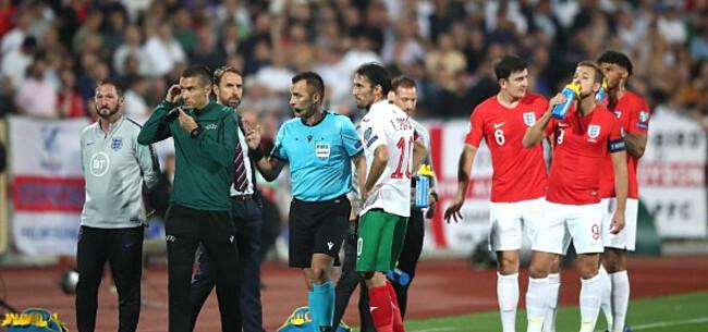 Foto: UEFA roept zowel Bulgarije als Engeland op het matje na schandelijke vertoning