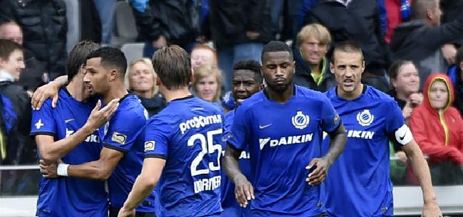 Foto: Club Brugge zonder 7 geblesseerden maar met 3 youngsters in Charleroi