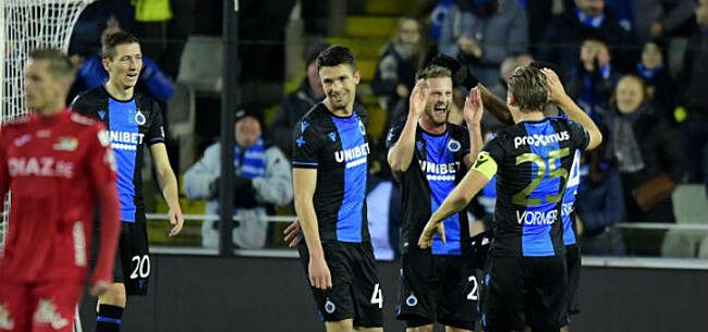 Foto: Club Brugge wint na saaie pot voetbal makkelijk van tienkoppig KV Oostende