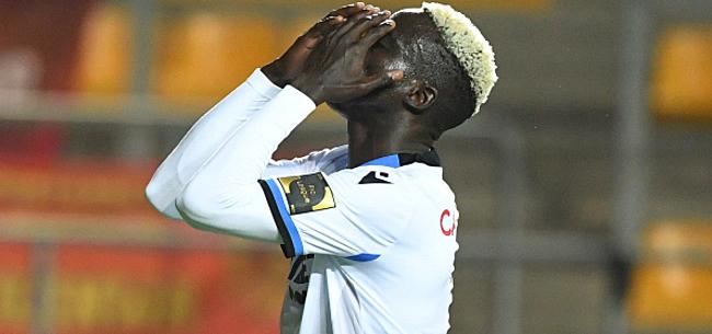 Foto: Club-fans niet te spreken over 'soldenprijs' Diatta: