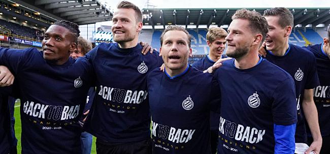Foto: Club Brugge kan weer rekenen op vaste waarde voor seizoensstart