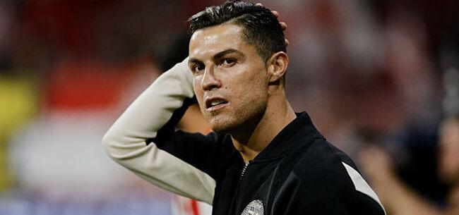 Foto: Geblesseerde Ronaldo moet passen voor duel Juventus