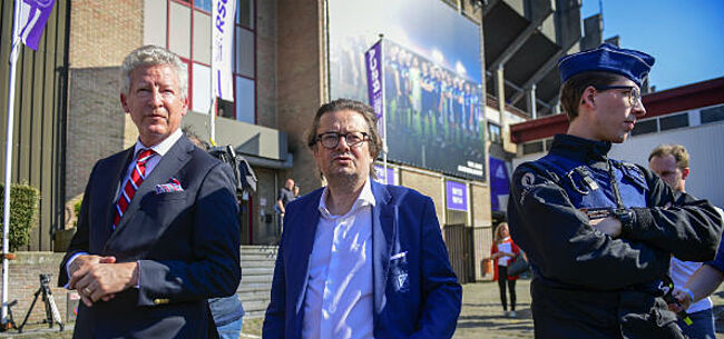Foto: De Crem zag dat alles veilig was in Anderlecht: