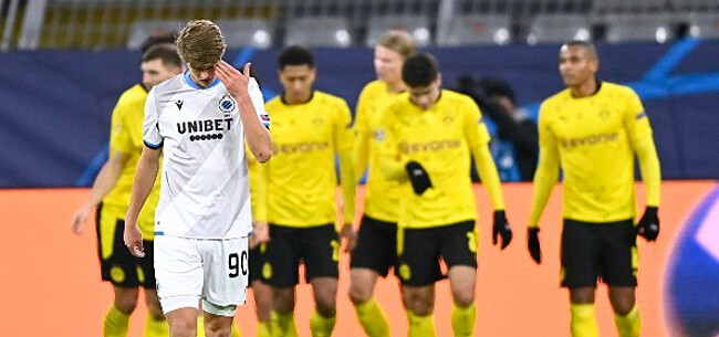 Foto: Club blijkt opnieuw een maat te klein voor Dortmund