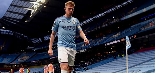 Foto: Man City kan niet winnen bij comeback De Bruyne