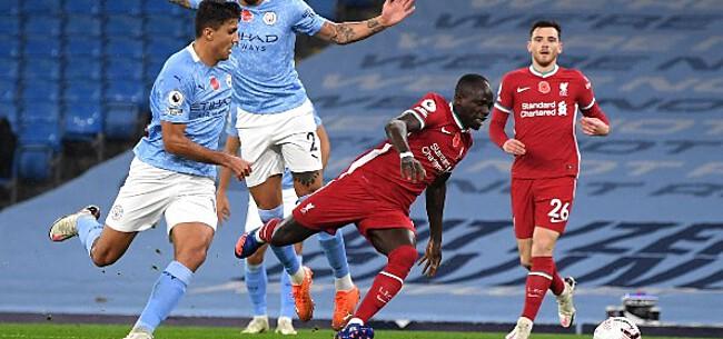 Foto: Penaltymisser De Bruyne kost City de zege tegen Liverpool