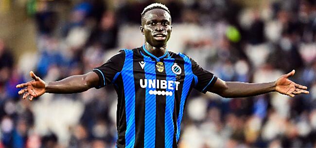 Foto: 'Ook Diatta zorgde voor akkefietje bij Club Brugge'