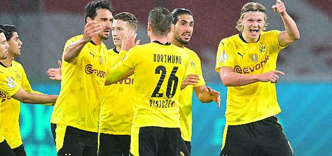 Foto: Dortmund dendert naar Duitse bekerwinst