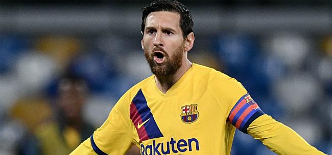 Foto: Dé druppel voor furieuze Messi: