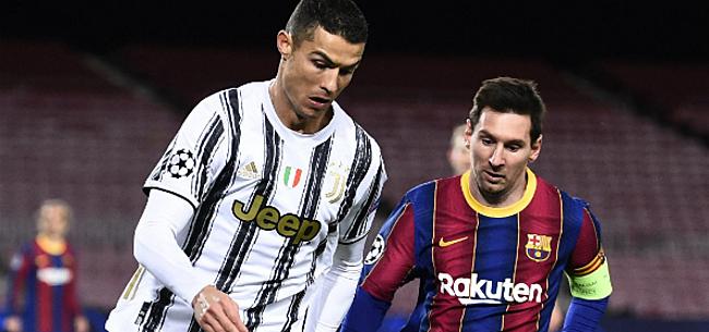 Foto: Ronaldo open over rivaliteit met Messi