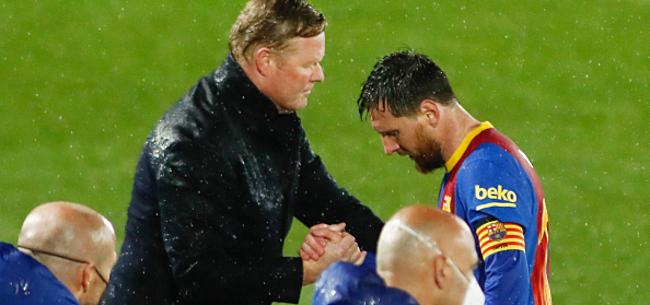 Foto: 'Messi & co gooien Koeman onder de bus'