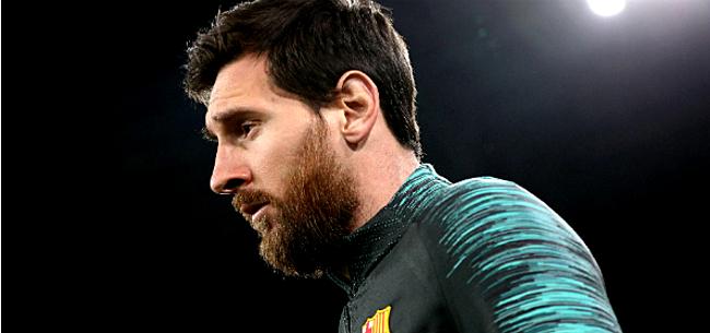 Foto: Over & out? Messi daagt niet op voor fysieke tests