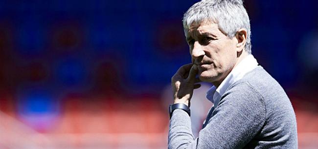 Foto: Setién trekt aan de bel bij UEFA: 'Niet eerlijk'