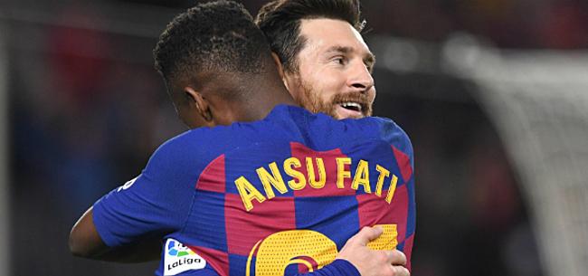 Foto: Messi snoert criticasters de mond en loodst Barça naar de zege tegen Betis
