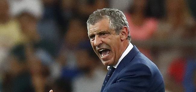 Foto: Santos beloond voor EK-winst met Portugal